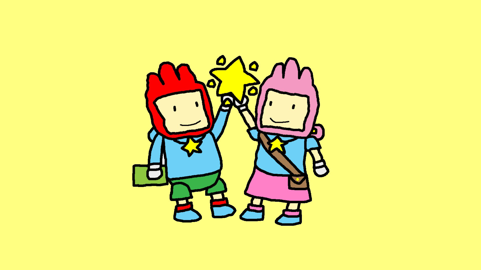 Maxwell Scribblenauts Drawing : Have some scribblenauts art alxala s fortress of